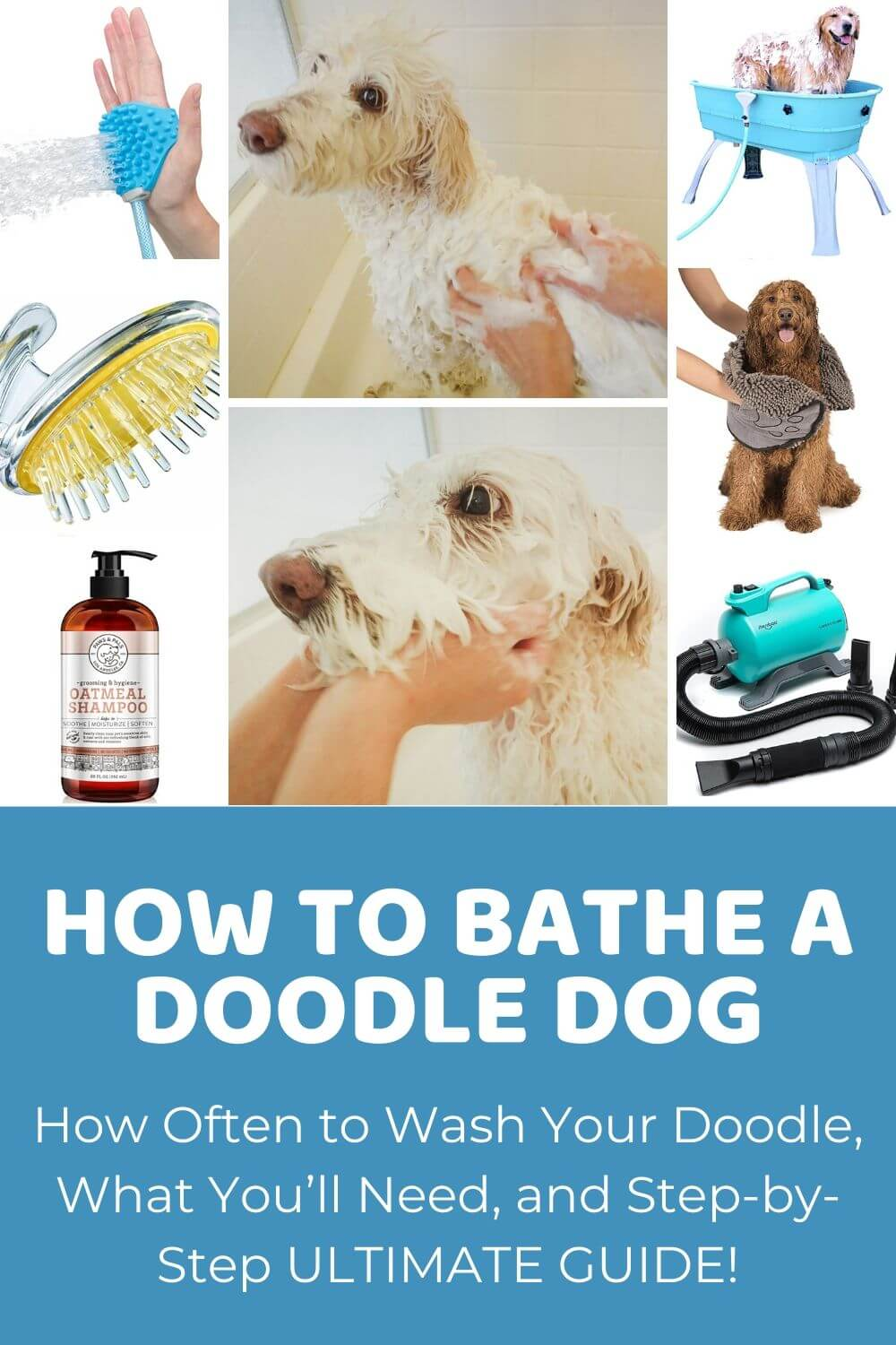How To Bathe A Dog Ultimate Guide To Bathing Doodles